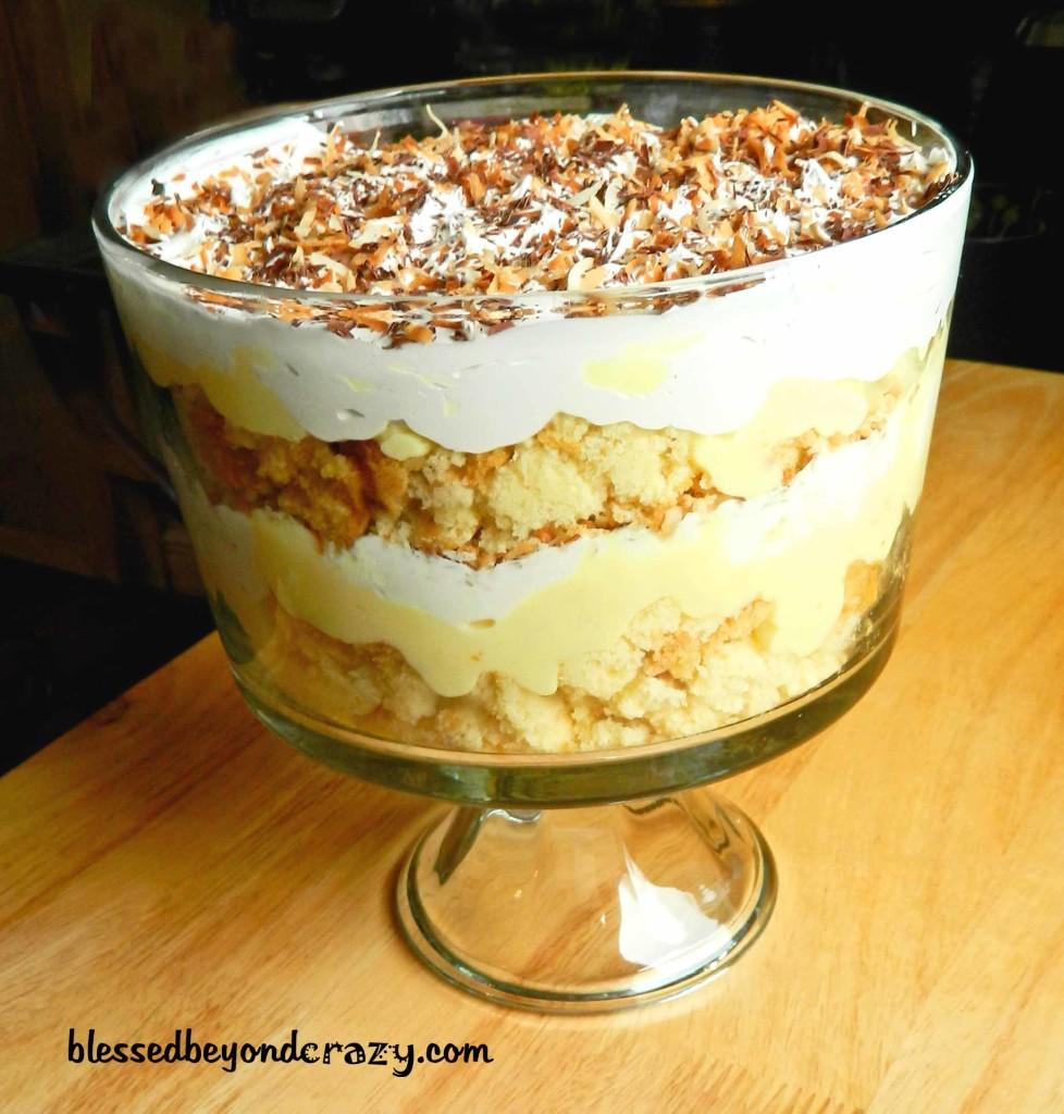 coconut trifle