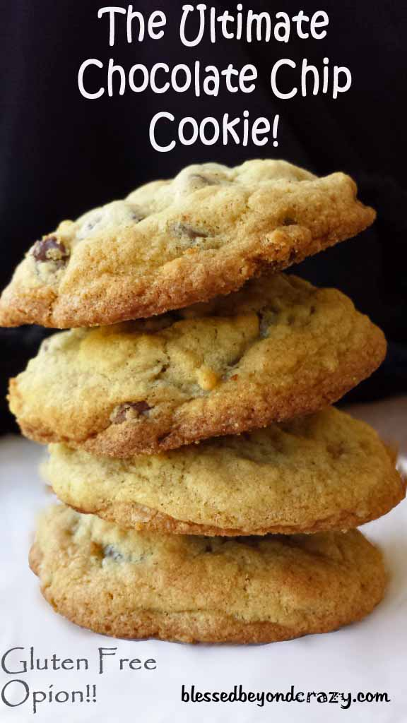 ultimate chocolate chip cookies