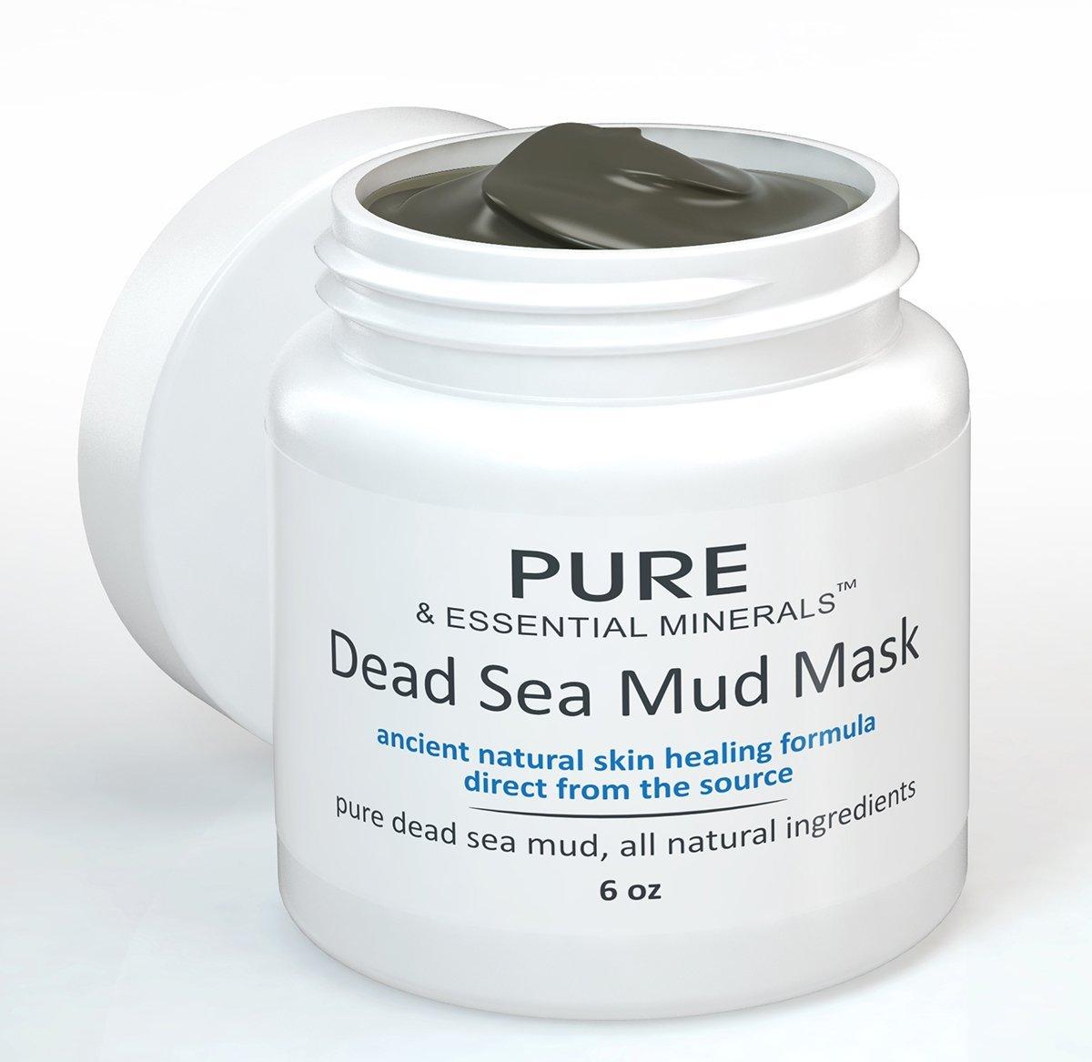 pure & essential minerals dead sea mud mask