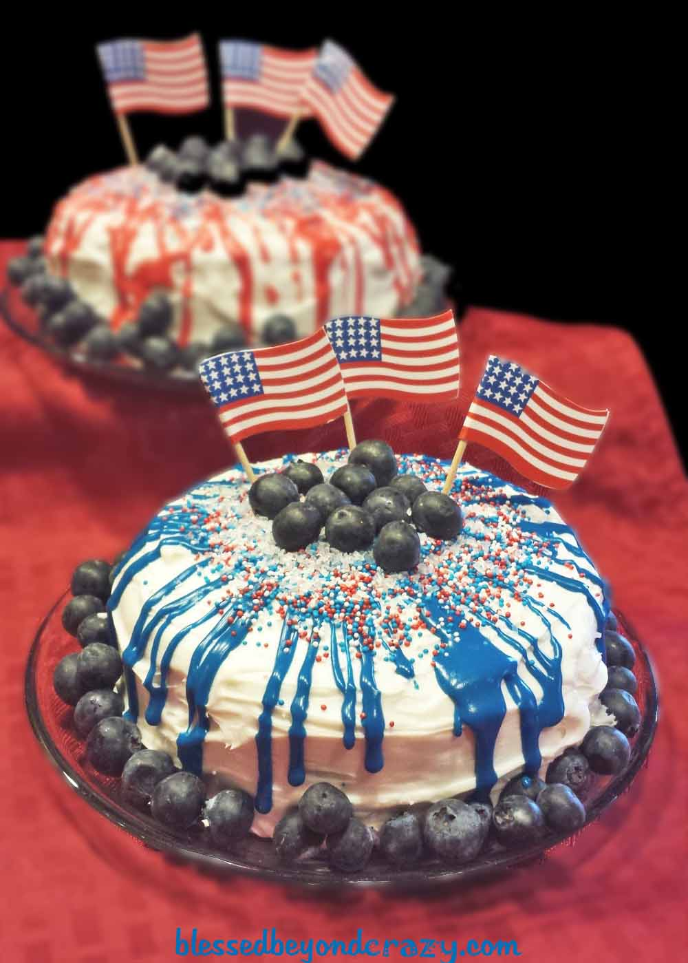 Happy Birthday America Cakes