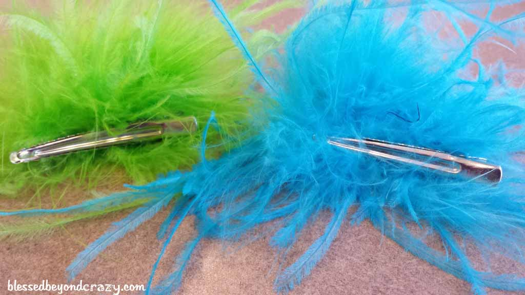 feather clips