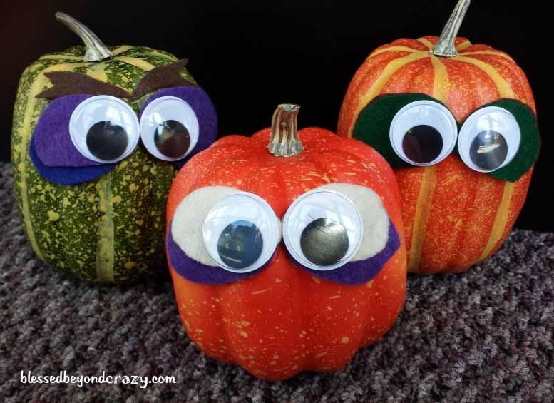 pumpkin felt