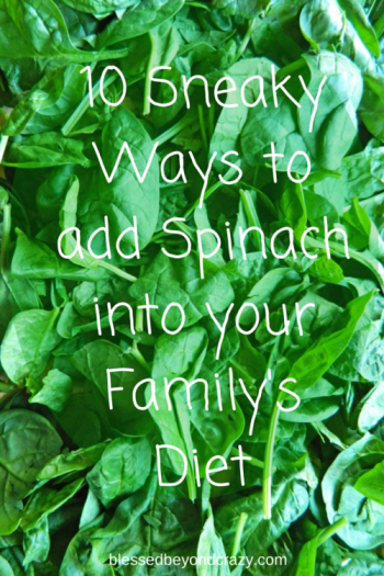 10 Sneaky Ways to add Spinach into your