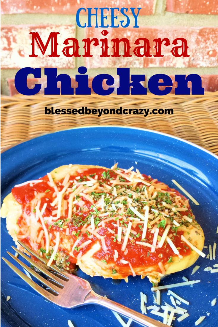 Cheesy Marinara Chicken