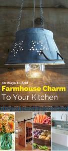Farmhouse Charm to Kitchen
