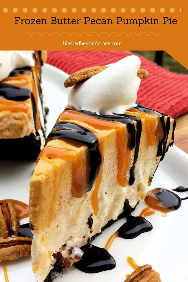 Frozen Butter Pecan Pie