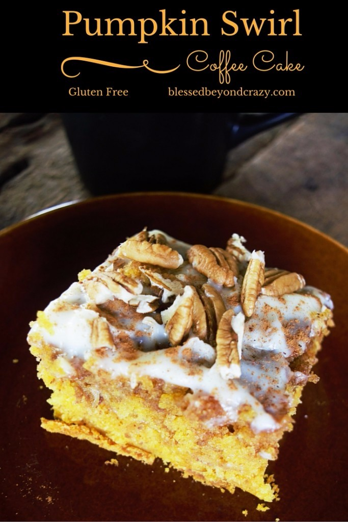 GF Pumpkin Swirl Coffee Cake