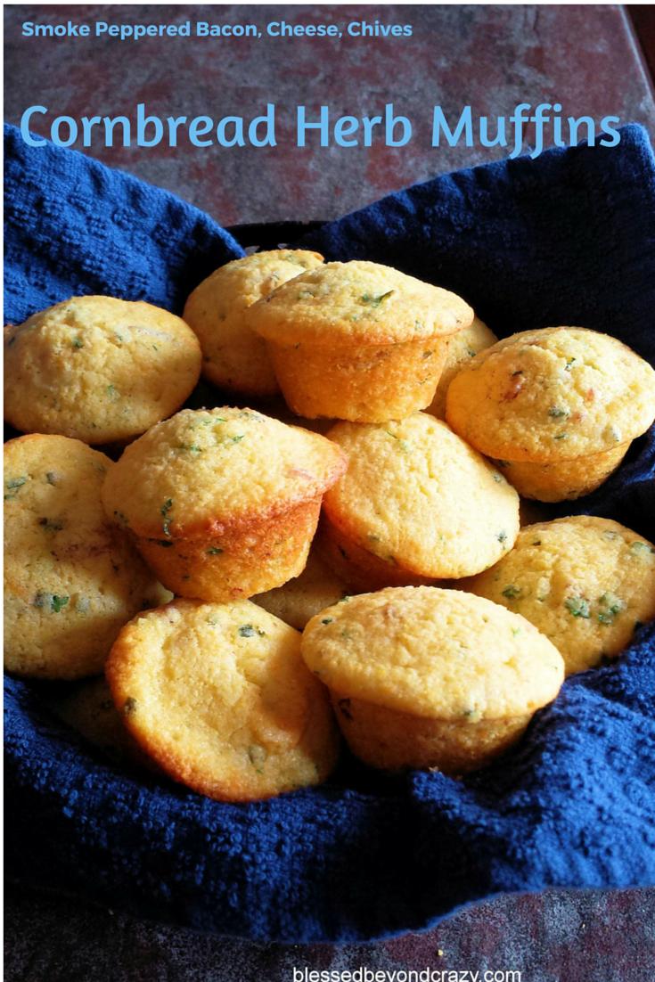 Cornbread Herb Muffins
