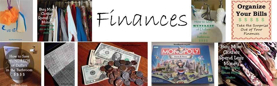 finances collage