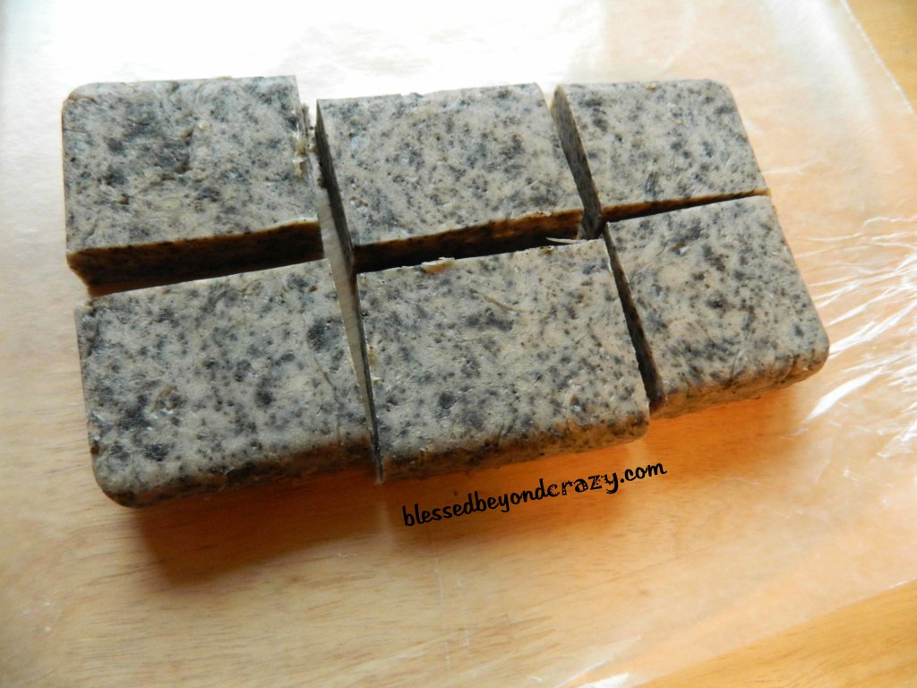 homemade coffee soap 1
