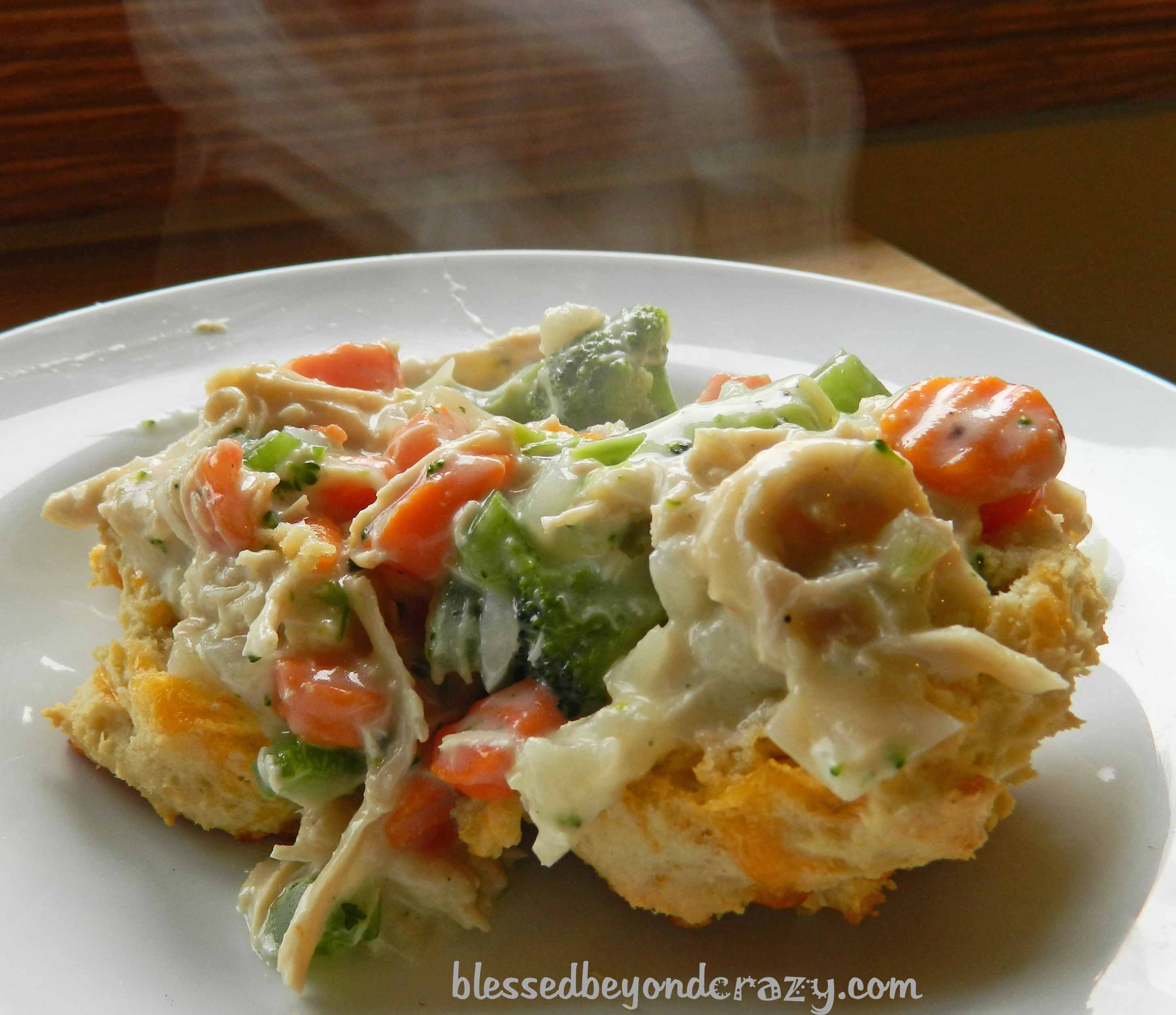 chicken pot pie gluten free