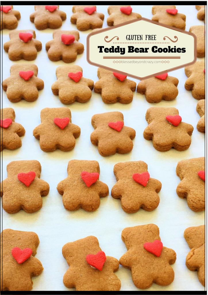 Teddy Bear Cookies 1