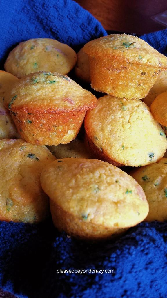 Cornbread Herb Muffins 2