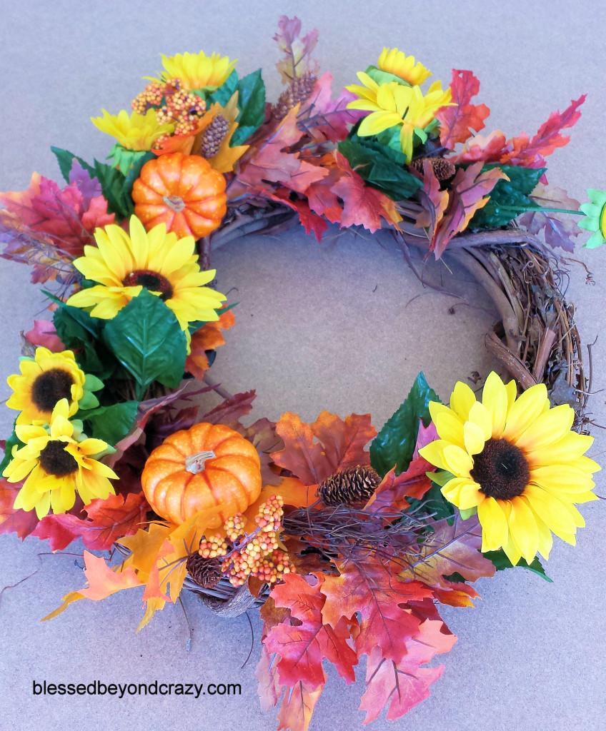 DIY Fall Wreath 6