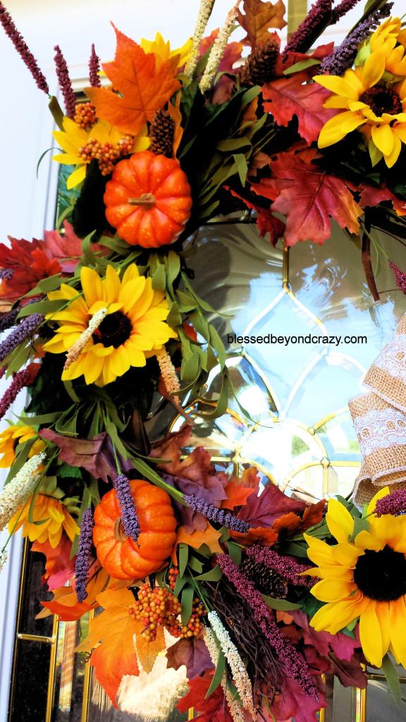 DIY Fall Wreath 10