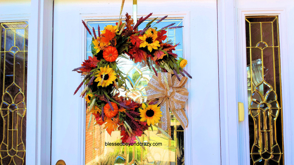 DIY Fall Wreath 11