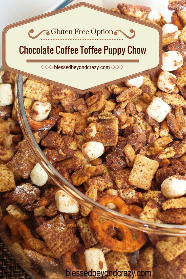 Chocolate Coffee Toffee Puppy Chow