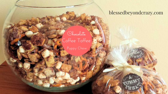 Chocolate Coffee Toffee Puppy Chow 4