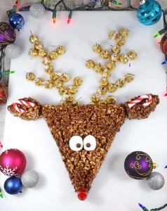 reindeer center piece