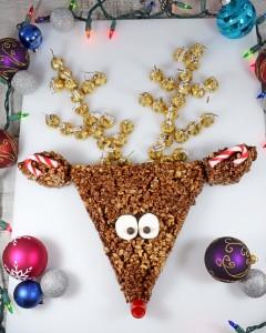 rice crispie reindeer