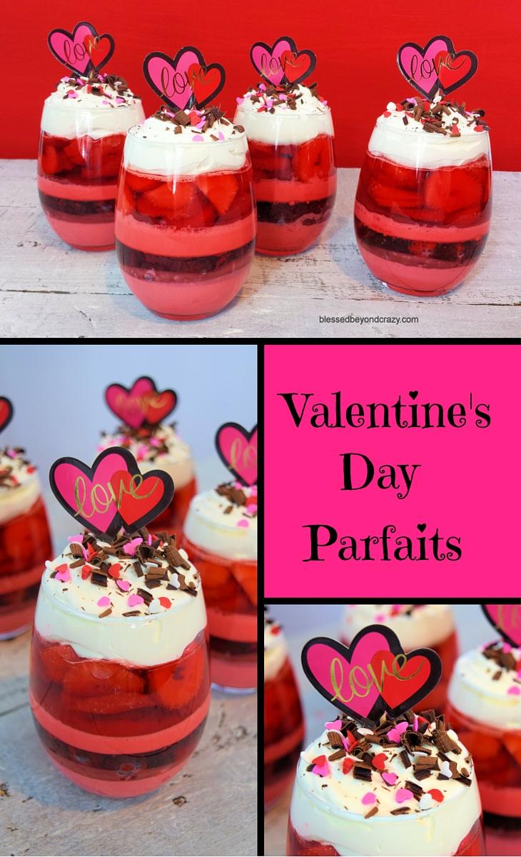 Valentine's Day Parfaits 2