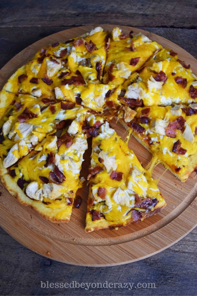 bacon bbq pizza
