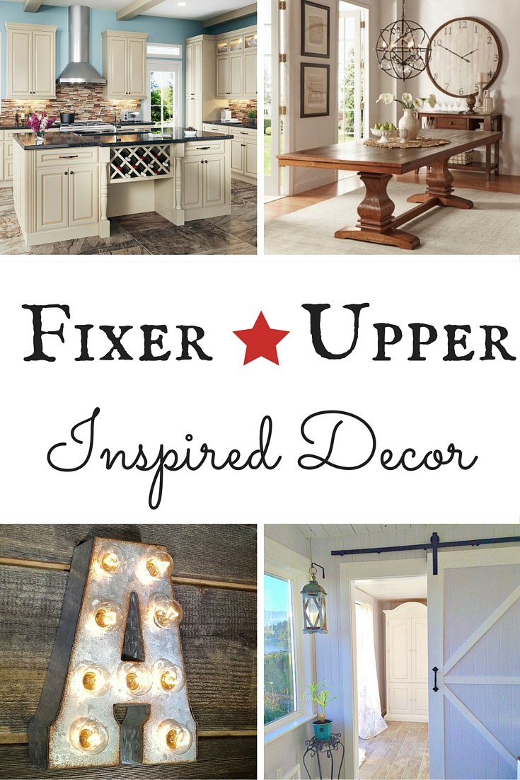 fixer upper inspired decor. Black Bedroom Furniture Sets. Home Design Ideas