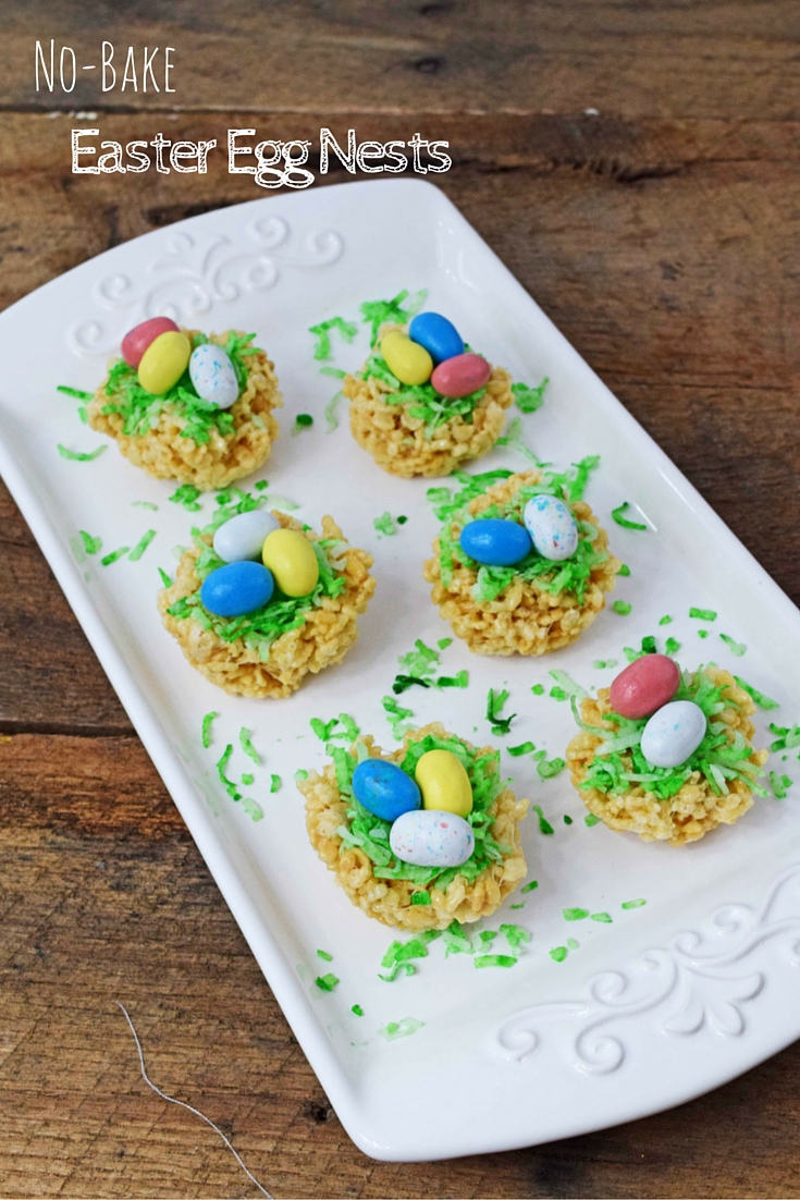 Easter Egg Nests Recipe — Dishmaps