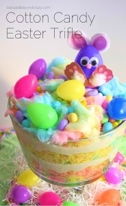 Cotton Candy Easter Trifle 4