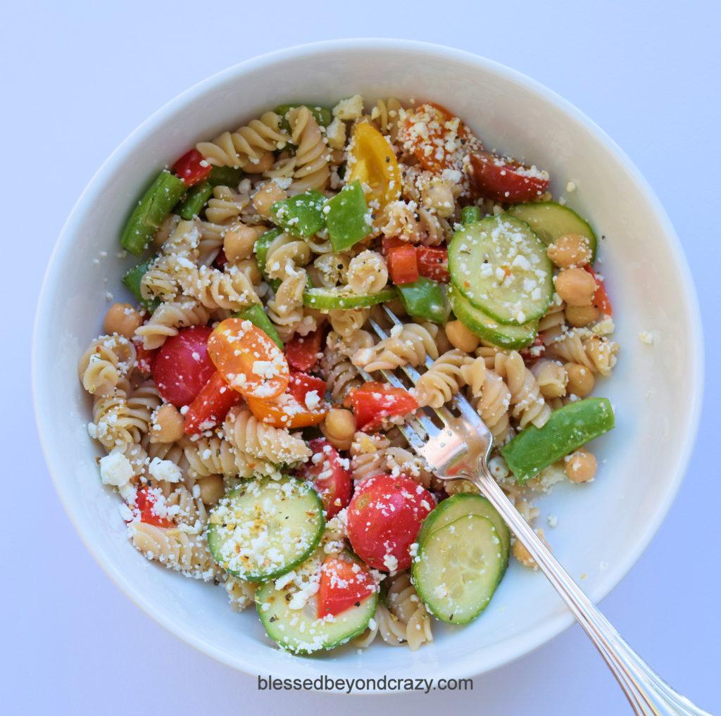 GF Pasta Salad 6