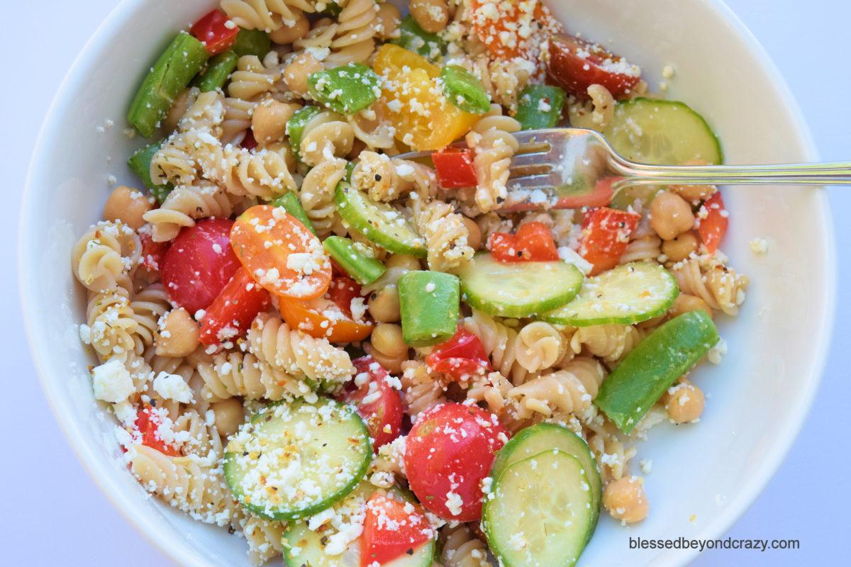 GF Pasta Salad 7
