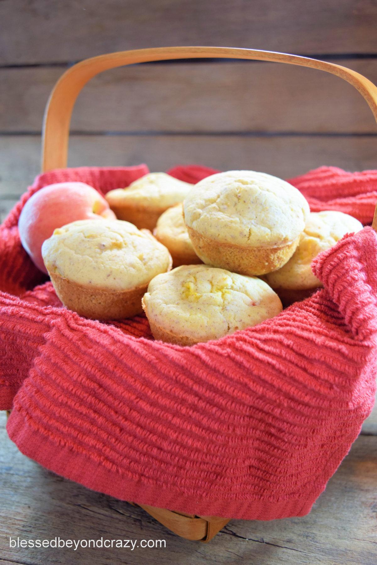 Peachy Peach Muffins 4