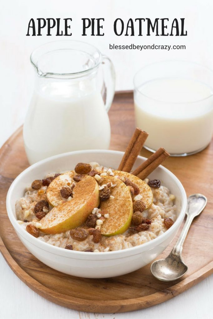 Apple Pie Oatmeal (1)
