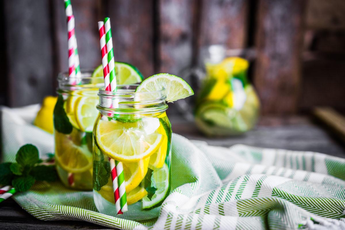 Healthy Snacks Citrus Water