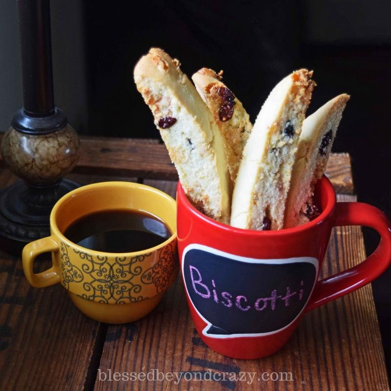gluten free biscotti