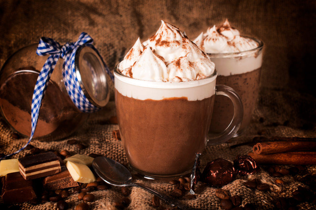 Mugs of Mocha Hot Chocolate