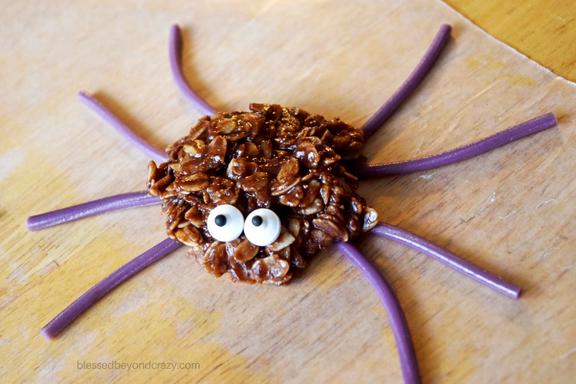 spider-cookie-no-bake