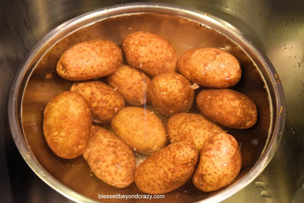 Homemade Potato Skins 1