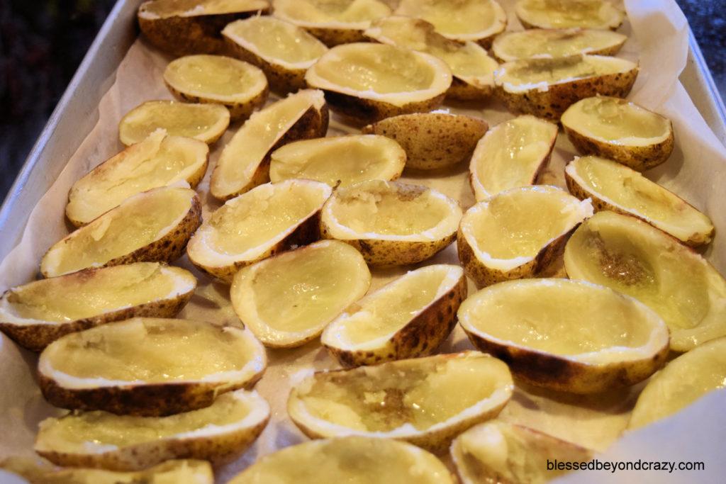 Homemade Potato Skins 5