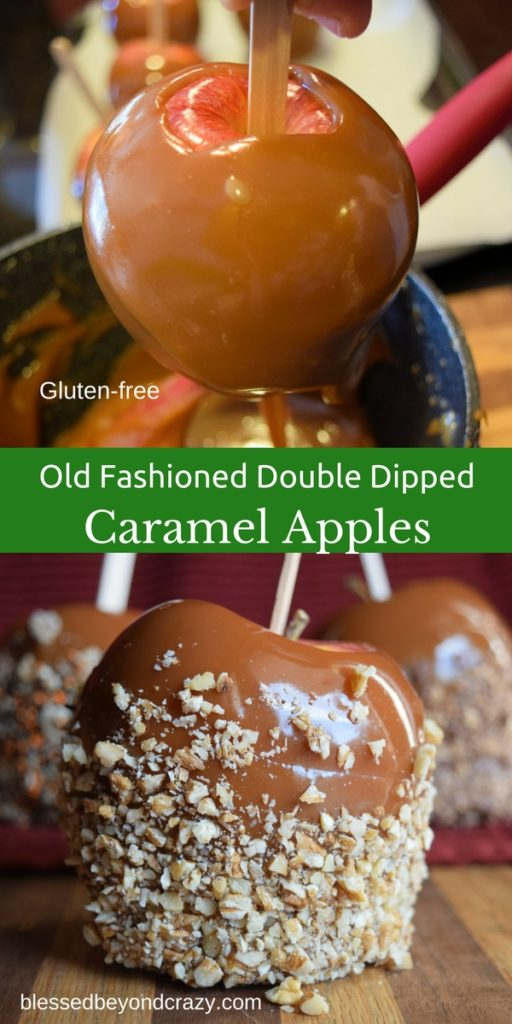 old-fashioned-double-dipped-caramel-apples