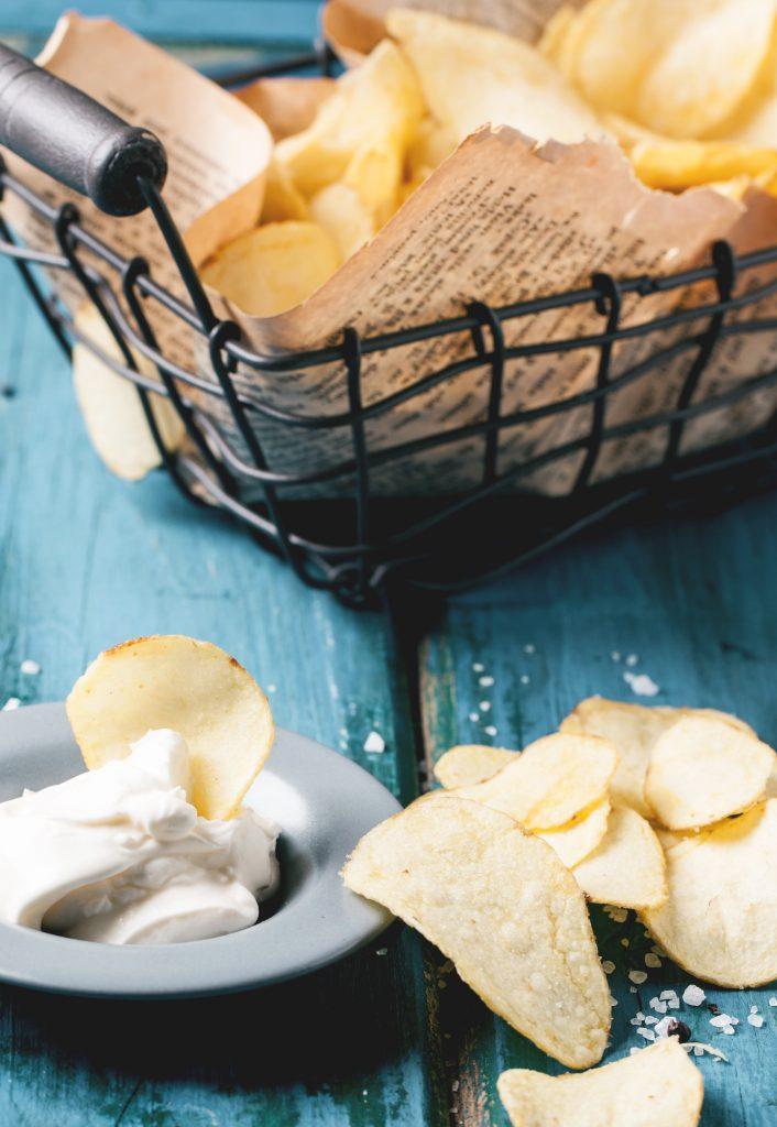 How to Make Homemade Potato Chips