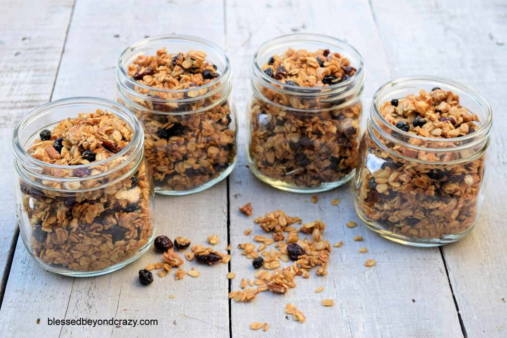 Old-Fashioned Homemade Gluten-Free Granola