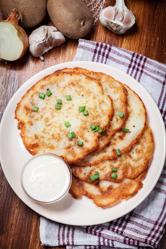 Good Old-Fashioned Potato Pancakes