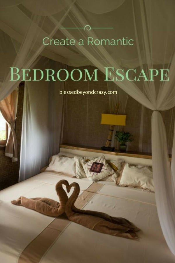 Create a Romantic Bedroom Escape