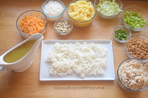 chinese chicken ingredients