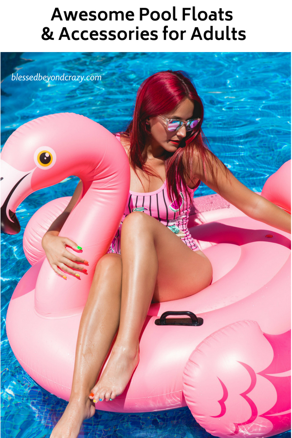 Awesome Pool Floats & Accessories for Adults