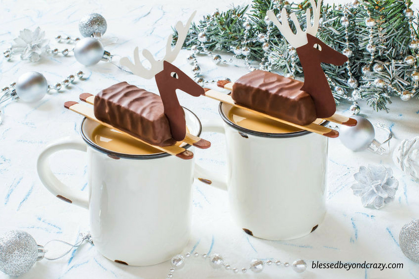 Reindeer Candy Bar Favors