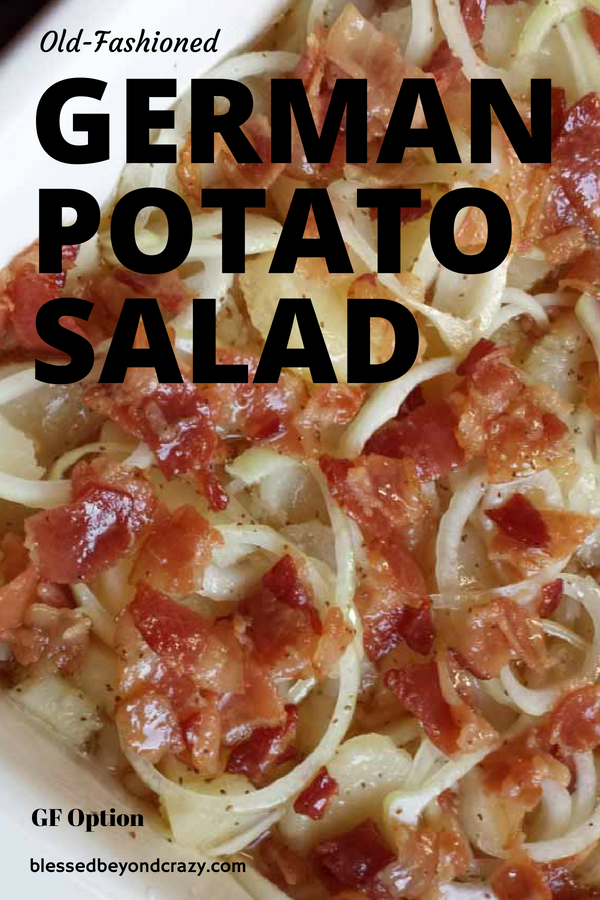 Old-Fashioned German Potato Salad