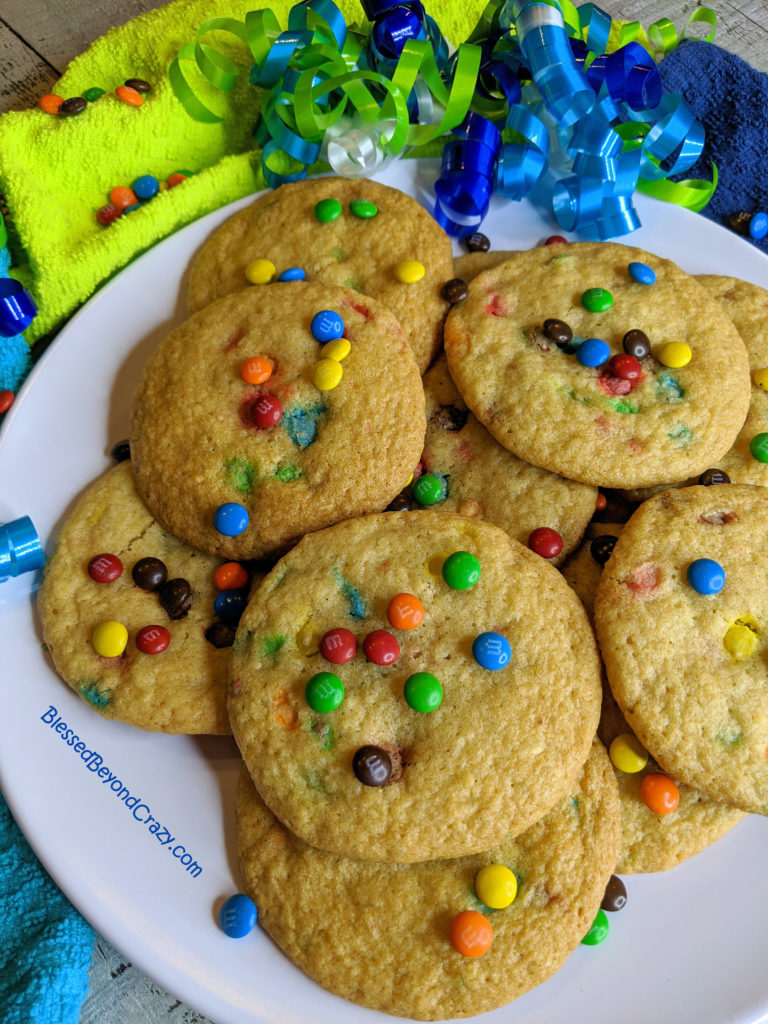 Close-up of plate of Kid's Favorite Gluten-Free Cookies