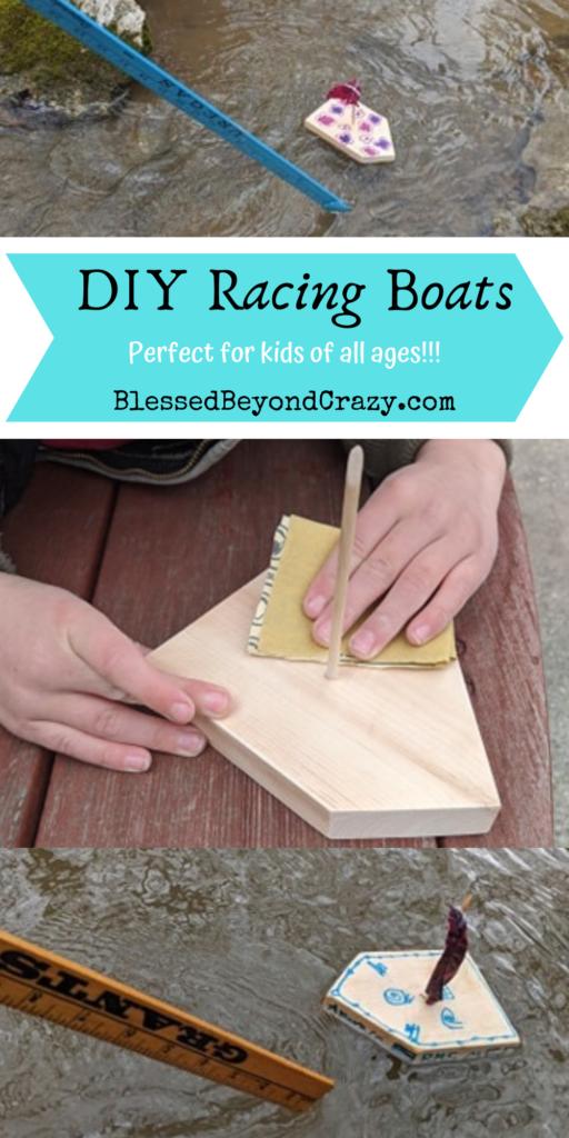 diy racing boats